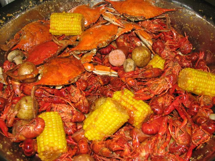 Crawfish and Blue Crab Boil - Texas Fishing Forum