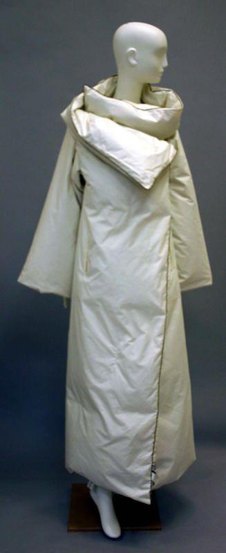 Coat Martin Margiela (Belgian) ca. fall/ winter 1999 cotton, feathers