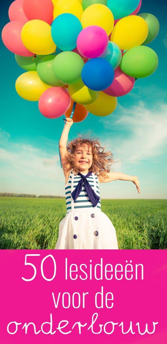 In het onderwijs ben je altijd op zoek naar ideeën om de lessen op een leuke manier uit te voeren. In dit boek vind je 50 leuke werkvormen!