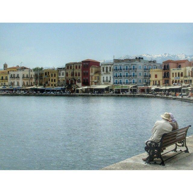 Walking around...! #Chania #Port Photo credits: @dimitrapjerr