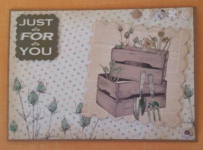Potting Shed l by Craftwork Cards. Card made by Jane Compton
