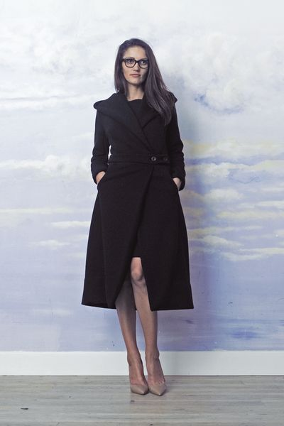 SHE'S SO CHIC black by RISK Made in Warsaw = chic coat