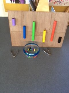 Fine motor and colour matching game