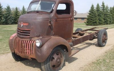 Old Chevy Trucks For Sale | 1946 CHEVROLET COE TRUCK For ...