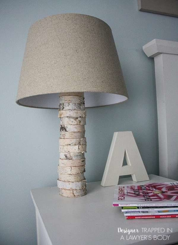 16 Brilliant Lighting Ideas You Can Diy On A Dime Wood Lamps