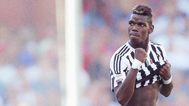 Paul Pogba French  Juventus Turin  Number 10