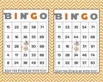 Bingo Cards Custom Bingo Cards type your own by saralukecreative