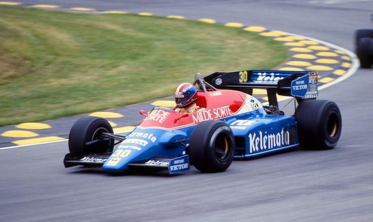 1984 GP Wielkiej Brytanii (Brands Hatch) Osella FA1F - Alfa Romeo (Jo Gartner)