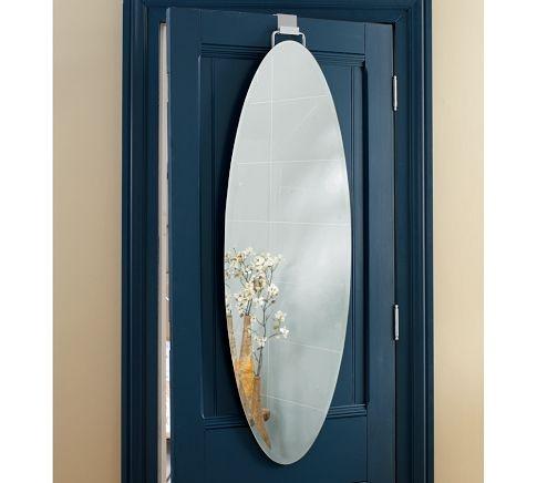 over the door full length mirror girls pinterest. Black Bedroom Furniture Sets. Home Design Ideas