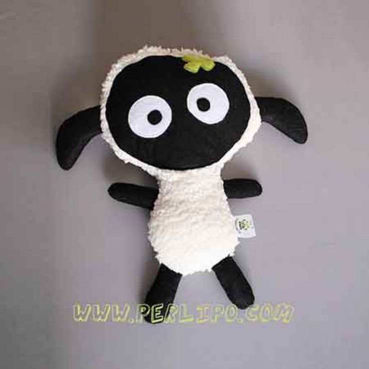 Patron de doudou mouton à coudre par Perlipo