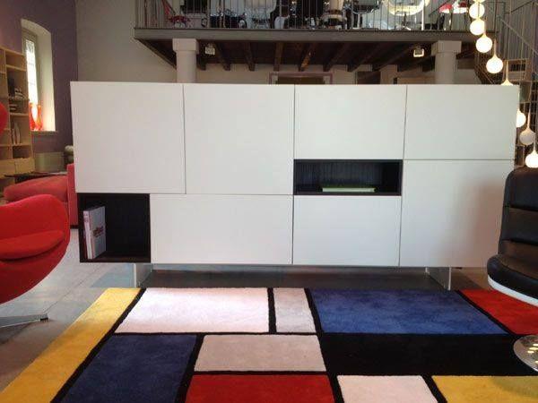 Madia MD402 Modern collection - design Piero Lissoni - Porro www.classicdesign.it