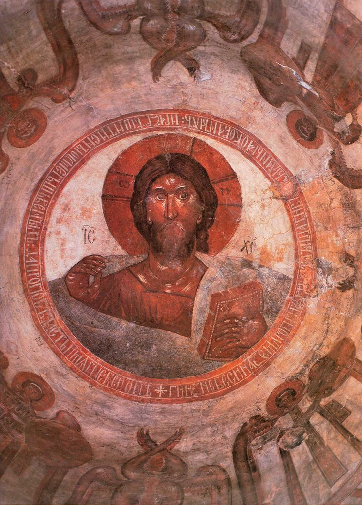 Theophanes the Greek ~ Christ Pantocrator, The Church of Transfiguration of Christ, Novgorod, 1378