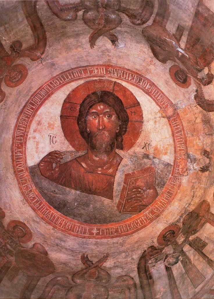 Theophanes the Greek ~ Christ Pantocrator, The Church of Transfiguration of Christ, Novgorod, 1378