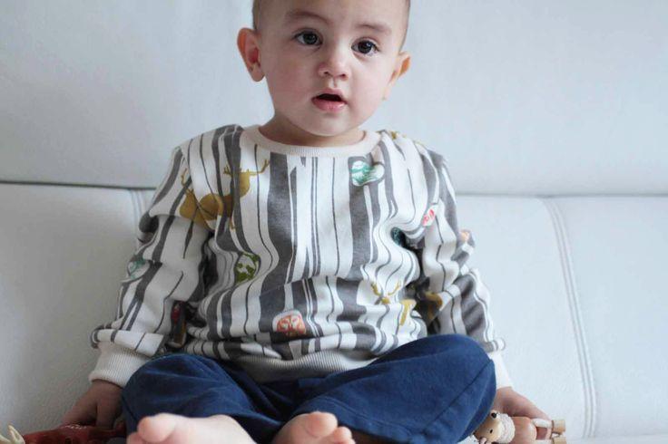 Dětské tričko z biobavlny / Kids T-shirt made from organic cotton Birch fabrics