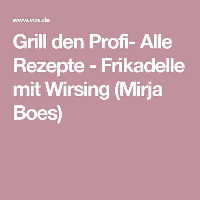Grill Den Profi Rezepte