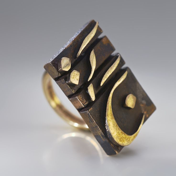 ALANGOO-Handcrafted bronze ring - Media Collection by Farish-Iran