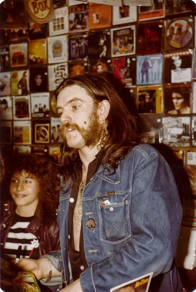 Lemmy at ZigZag records