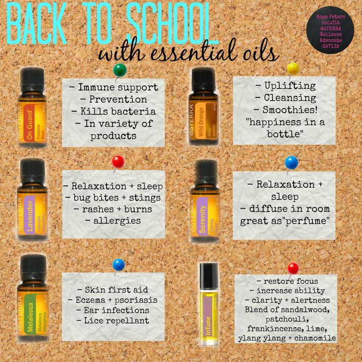 Back to School with Essential Oils Webinar | Essential ...