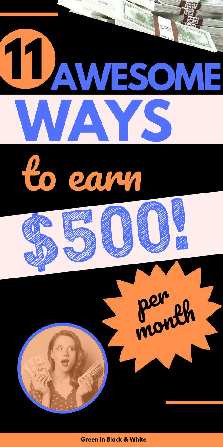 Make easy money online?Here are 11 ways you can make money with these websites. … – Creative Ways to Make Money