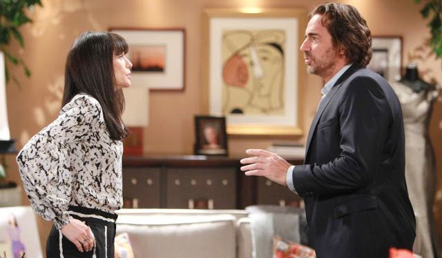 'The Bold and the Beautiful' (New!) Day Ahead Recap December 26: Ridge Quinn and Liam Shockers revealed!   So here's what we can expect from our four favorite four soap The Bold and the Beautiful over Christmas and the New Year? Read on to find out  but beware contains spoilers!  Tomorrow on the December 26 episode of The Bold and the Beautiful Ridge proudly gloats to Liam that Quinn was flirting with him when he saw her naked taking a shower. Later Quinn asks Ridge if any woman has ever…