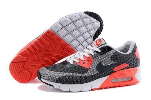 a287aafa57fe Nike Air Max 90 Jcrd Mens Shoes Gray Black Orange White Hot Switzerland