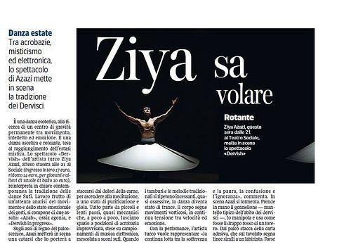 Spettacolo di Ziya Azazi