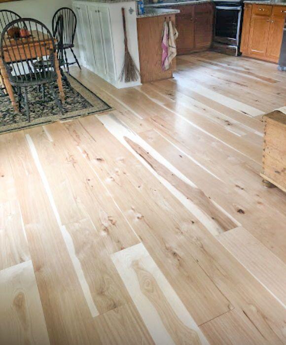 Wide Plank Hickory Flooring Wide Plank Hardwood Floors Wood