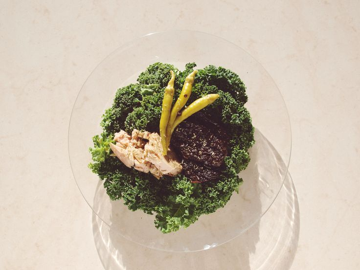 ensalada de col y conservas by beet spirit