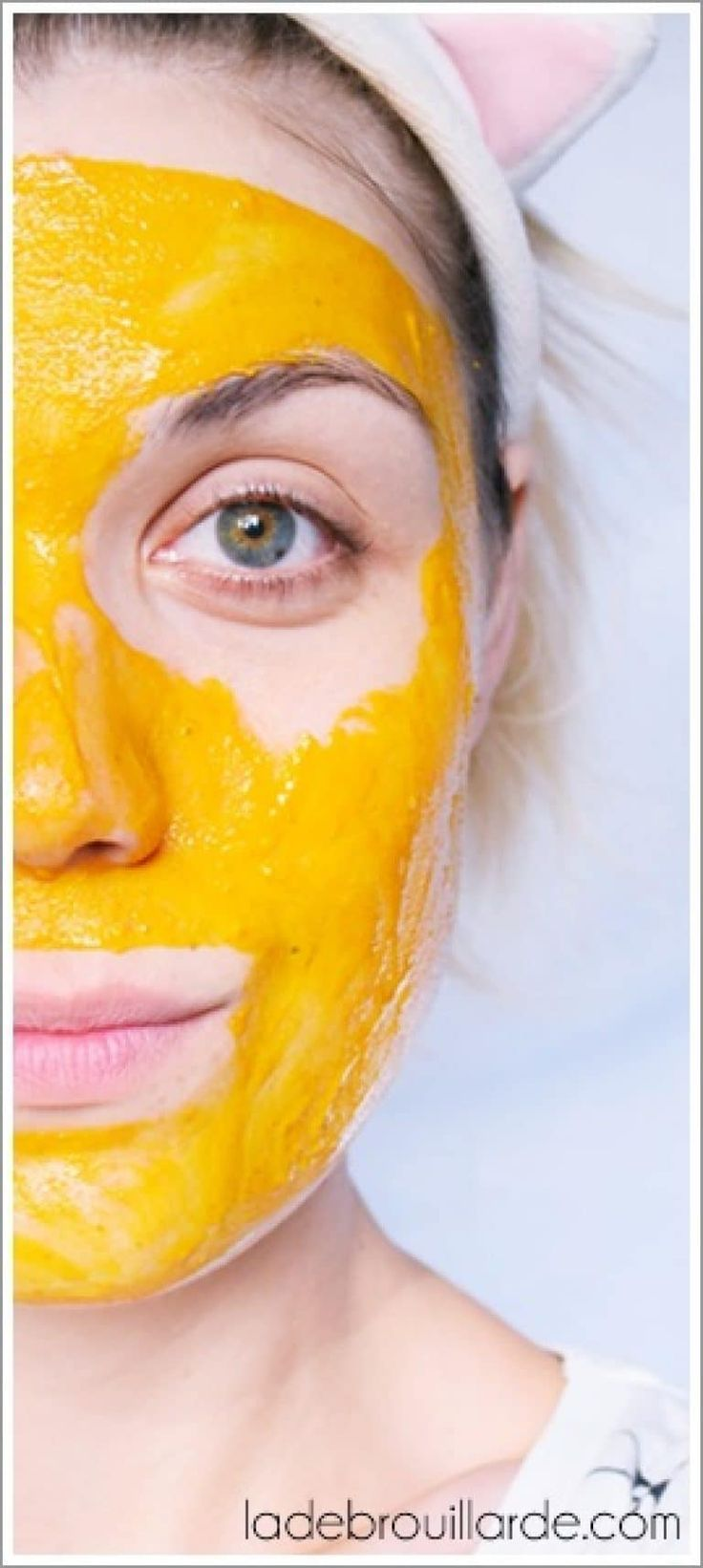 Masque anti-bouton anti-ride hydratant curcuma