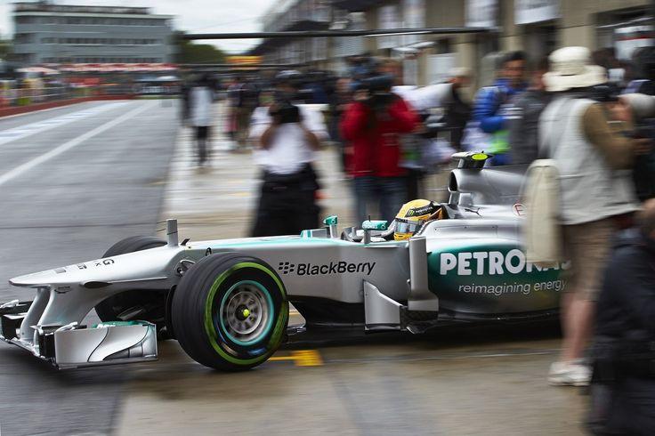 Formel 1 - MERCEDES AMG PETRONAS, Großer Preis von Kanada, Montreal. 07.-09.06.2013. Lewis Hamilton