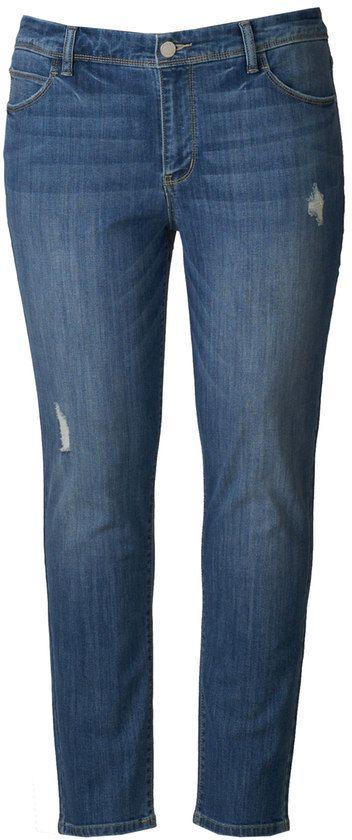 d9a16d572b2 Simply Vera Vera Wang Plus Size Simply Vera Vera Wang Skinny Jeans ...