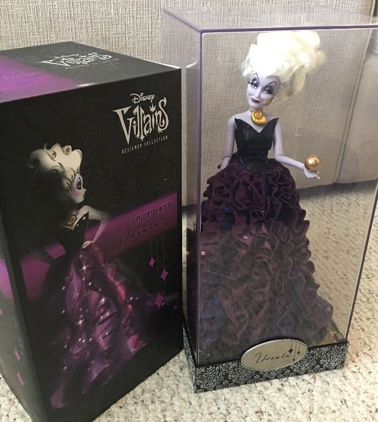 Ursula Disney Villains Designer Collection Doll LIMITED EDITION    #Disney