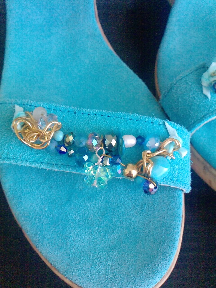 handmade sandals by elena