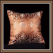 atacado moda 100% de seda nova moda almofada espera cobrir fronha cintura travesseiro quadrado( 40cm) decor cs18-5(China (Mainland))