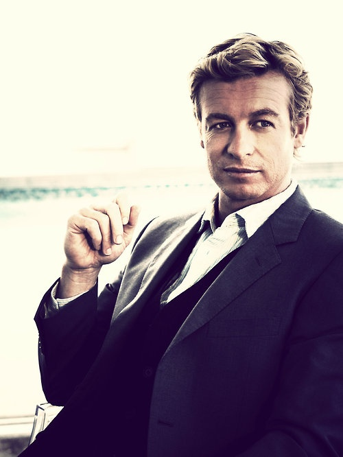 simon baker @Jalissa Stonecipher your favorite person! Someone said he should play christian grey... i agree!