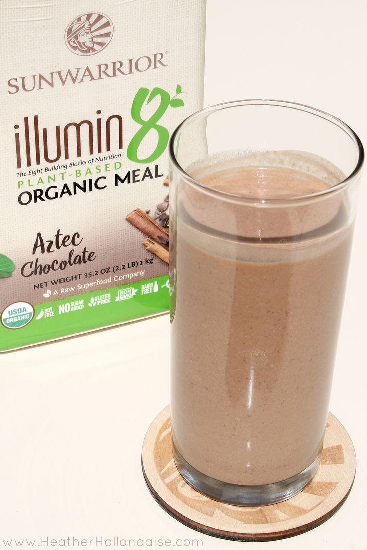 Illumin8 Organic Meal Replacement + 2 shake recipes