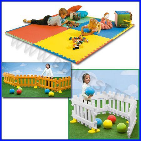 ... per stanze da gioco, Seminterrato per bambini e Organizzazione camera