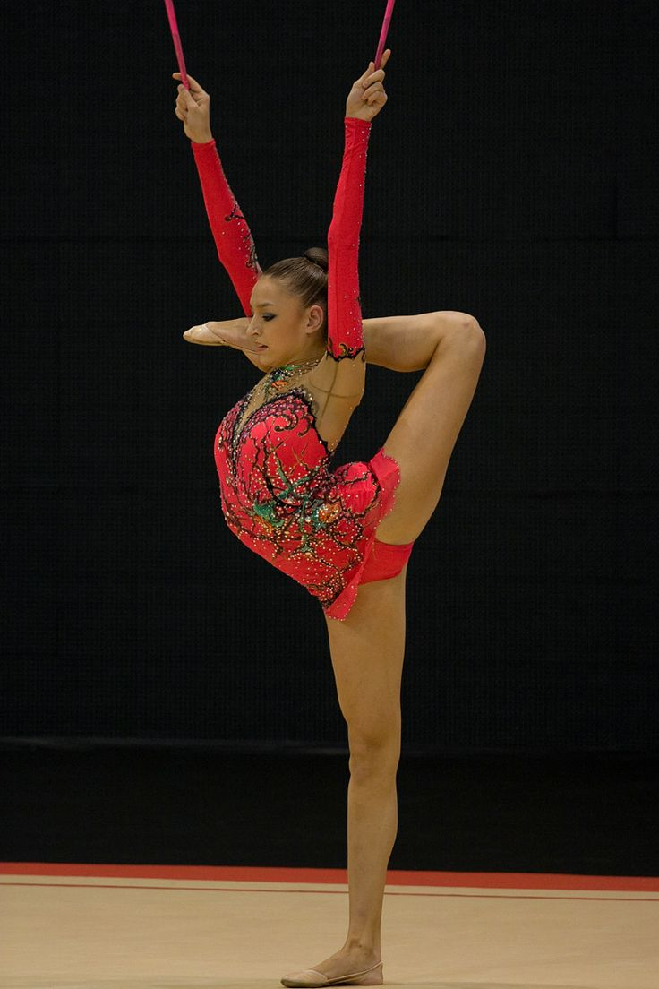 2012 Olympic Rhythmic Gymnast