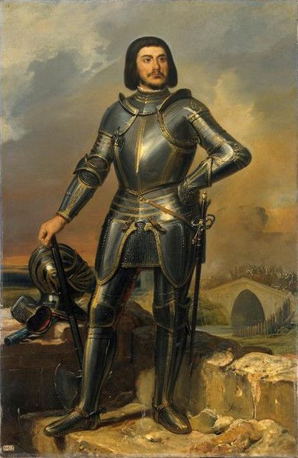 Gilles de Rais (a French nobleman) is considered to be the precursor to the modern serial killer. Before he began his killing spree, he rode as a military captain in the army lead by St Joan of Arc – though it is unlikely that she knew him. He was accused and ultimately convicted of torturing, raping and murdering dozens, if not hundreds, of young children, mainly boys. He is considered the real-life Bluebeard.