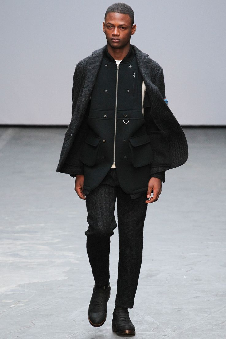 Casely-Hayford Fall 2015 Menswear Fashion Show