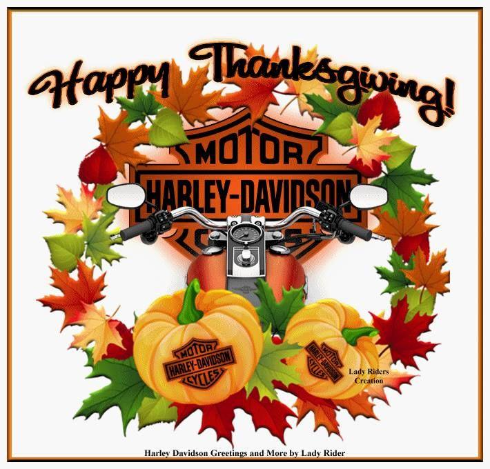 Thanksgiving (With images) | Harley davidson artwork ...
