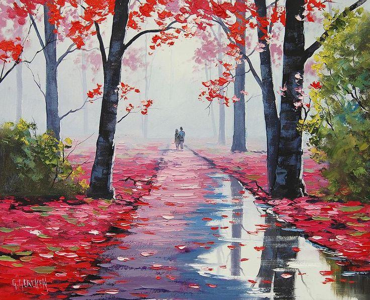 Richard Child @richchildmusic 'Pretty in Pink (Lovers Stroll)' ~ Graham Gercken, 2012. #art pic.twitter.com/oWYQipPbuj