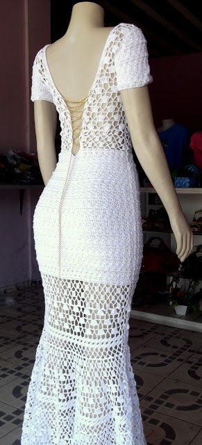 Marcinha crochet: crochet dresses: