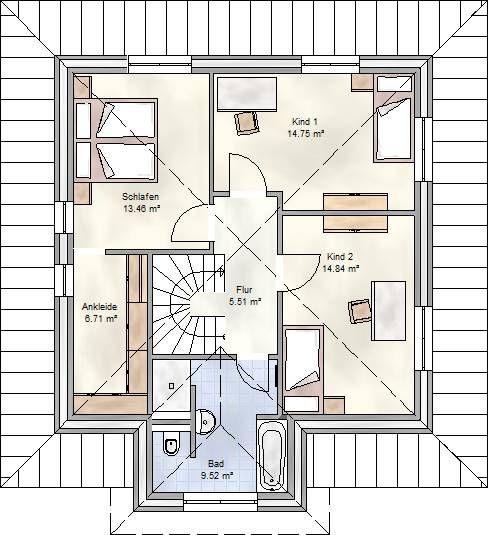 Stadtvilla grundriss 150 qm  9 besten grundriss zweifamilienhaus Bilder auf Pinterest ...