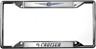 Chrysler PT Cruiser Chrome License Plate Frame