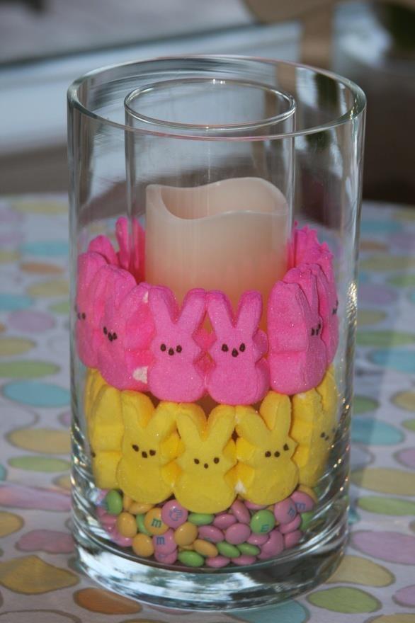 Peeps candle