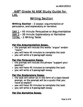 Literary essay example middle school