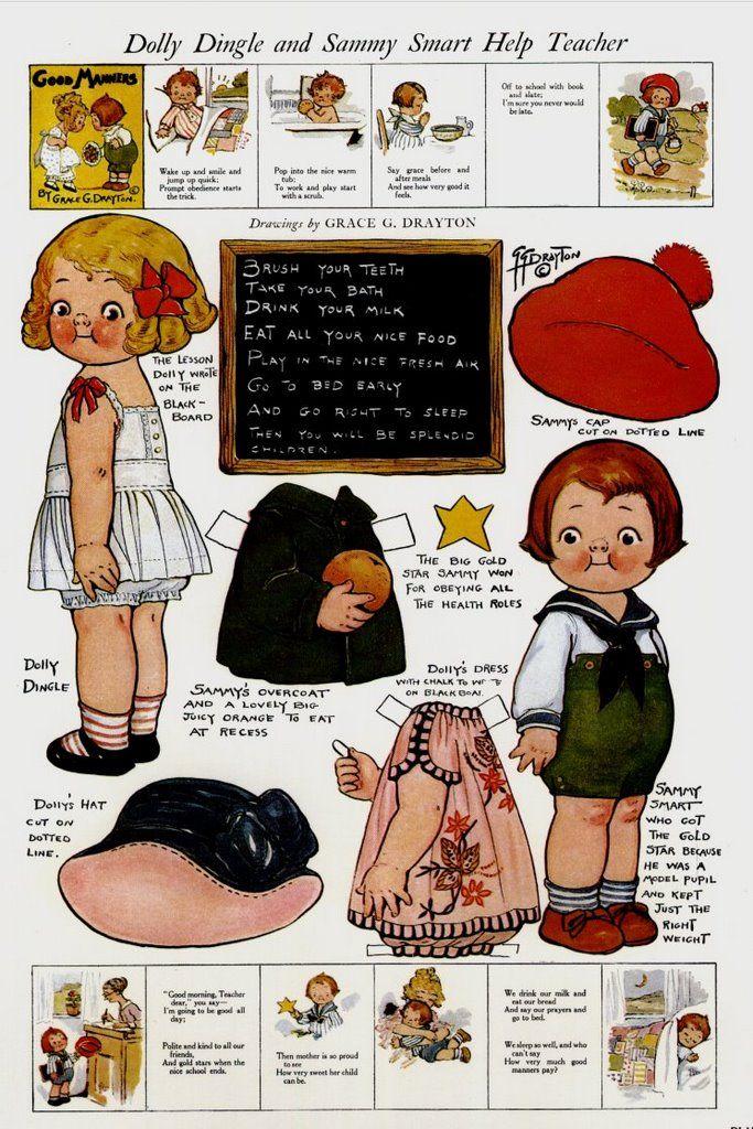 Dolly Dingle-and Sammy Help Teacher