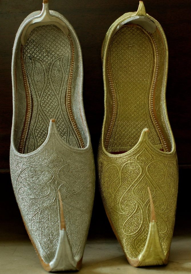 Traditional Shoes From Pakistan Khusa Pakistan