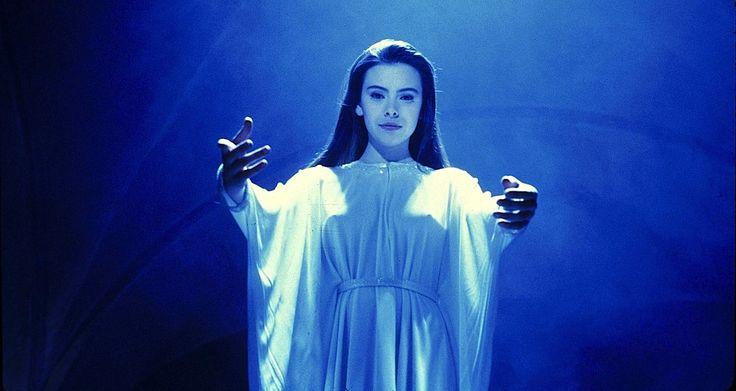 Mathilda May in Lifeforce (1985). Dir. Tobe Hooper.